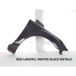 BŁOTNIK FORD FOCUS MK2 FL 08-10 PANTER BLACK MET.