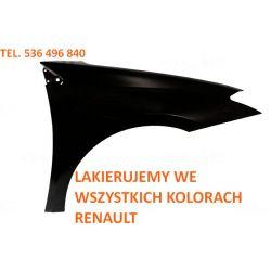 Błotnik prawy Renault Laguna III 07- dowolny kolor
