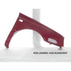 Błotnik prawy VW Golf 3 III LC3T czerwony L C3T