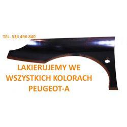 Błotnik lewy ocynkowany Peugeot 407 04-10 kolory