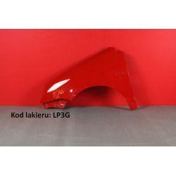 Błotnik lewy VW Polo IV 4 01-05 9N kolor (LP3G)