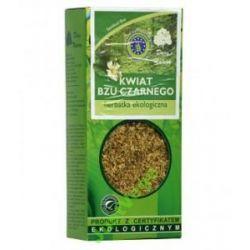 Czarny bez kwiat Eko herbata 50 g Dary Natury