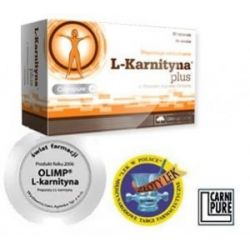 L-KARNITYNA PLUS 300mg/80kaps...