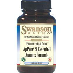 AjiPure Kompleks 9 istotnych aminokwasów  60kaps...