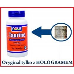 Taurine 500mg 100kaps – Tauryna...