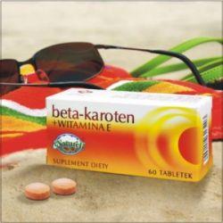 BETA-KAROTEN + WITAMINA E 60tabl...