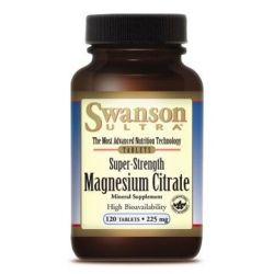 Cytrynian magnezu120 tabletek / 225 mg...