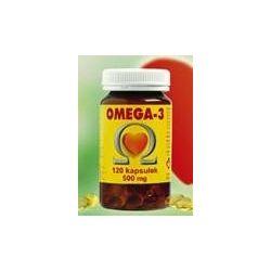 OMEGA-3 olej z łososia 500mg 120kaps...