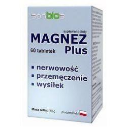Magnez Plus 60kaps...