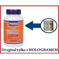 Liver Detoxifier & Regenerator - 90 kapsułek...