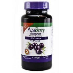 Ekstrakt z owoców Acai 60 kapsułek po 500 mg....