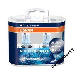 ŻARÓWKI H4 OSRAM NIGHT BREAKER PLUS 90% 2szt