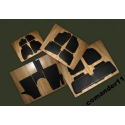 GUMOWE DYWANIKI PETEX FORD MONDEO MK4+ stopery