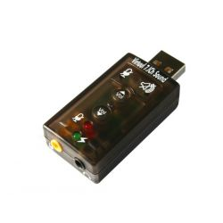SUPER KARTA DŹWIĘKOWA USB 7.1 3D SURROUND Dźwięk