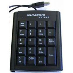 KLAWIATURA NUMERYCZNA Z USB DO NOTEBOOKA