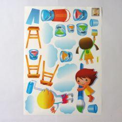 NAKLEJKA NAKLEJKI ŚCIANA MEBLE Dekoracje cukiernicze