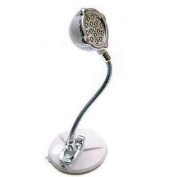 LAMPKA 16 LEED stojąca NA USB + przyssawka