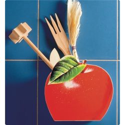 OCIEKACZ NA SZTUĆCE -jabłko Suszarki i ociekacze