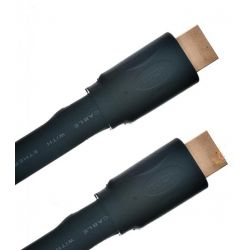 KABEL HDMI-HDMI 1.4a 3D 1920x1080P HQ -- 10 m slim