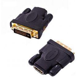 PRZEJŚCIOWKA ADAPTER HDMI FEM. NA DVI MALE
