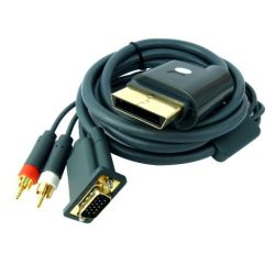 KABEL VGA HD DO XBOX 360 GOLD PLATED + audio