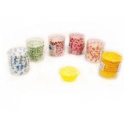 PAPILOTKI FOREMKI PAPIEROWE  MUFFINKI 150 szt duże Dekoracje cukiernicze, dodatki spożywcze