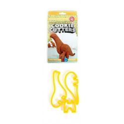 PLASTIKOWE FOREMKI WYKRAWACZE dinozaury 3D ciastka Dekoracje cukiernicze, dodatki spożywcze