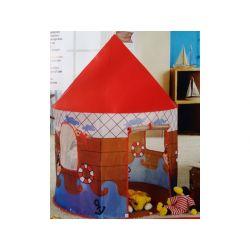 DOMEK NAMIOT  DO ZABAWY W POKOJU OGRODZIE PIRAT Zabawki ogrodowe