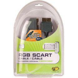 KABEL SCART RGB + KABEL OPTYCZNY DO XBOX 360