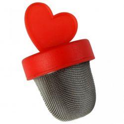 ZAPARZACZ  SITKO DO HERBATY serce Czajniki i imbryki