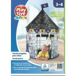 DOMEK NAMIOT ZAMEK  DO ZABAWY W POKOJU OGRODZIE Zabawki ogrodowe