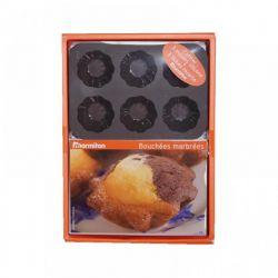 FOREMKI FORMA SILIKONOWA mini muffinki  3 x 6 szt Blachy i formy do pieczenia