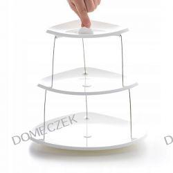 SKŁADANA OBROTOWA PATERA 3 poziomy Zastawa stołowa
