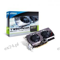 Karta GeForce GTX 660 MSI 2048MB TWINFROZR