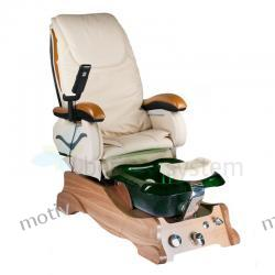 Fotel Pedicure Spa Barbados kremowy