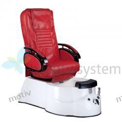Fotel Pedicure SPA BR-3820D Bordowy