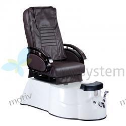 Fotel Pedicure SPA BR-3820D Brązowy