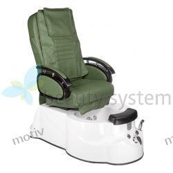 Fotel Pedicure SPA BR-3820D Zielony
