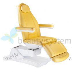 Elektryczny fotel kosmetyczny Mazaro BR-6672B Żółty