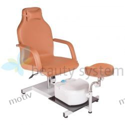 Fotel do pedicure BD-5711 beżowy