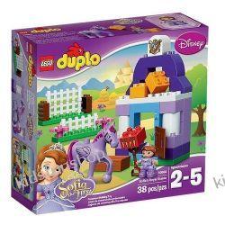 Lego Duplo Królewska stajnia Zosi