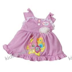 Ubranko dla lalki Baby born Baby Girl Collection białe