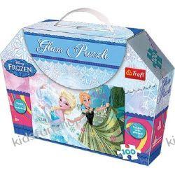 Puzzle Glam Kraina Lodu Anna i Elsa 100