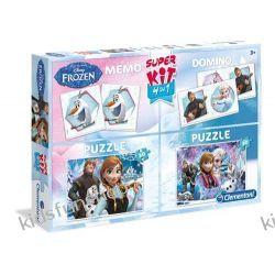 Puzzle Kraina Lodu Super kit 4 w 1