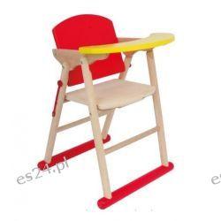 Legler Drewniane krzesełko do karmienia lali Diana