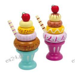 Kolorowe i apetyczne desery lodowe