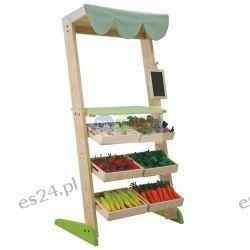 Drewniane stoisko warzywne, Plan Toys