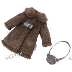 Ubranko 33 cm Chic Coat & Bag