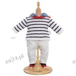 Ubranko 36 cm Spodnie, sweterek Paris, skarpetki