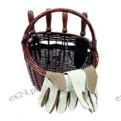 Koszyk ogrodowy z narzędziami